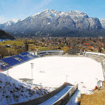 Olympiaschanze in Garmisch-Partenkirchen